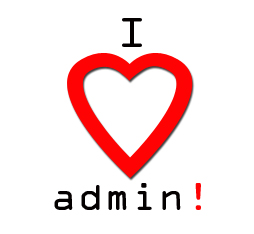 admin services link button